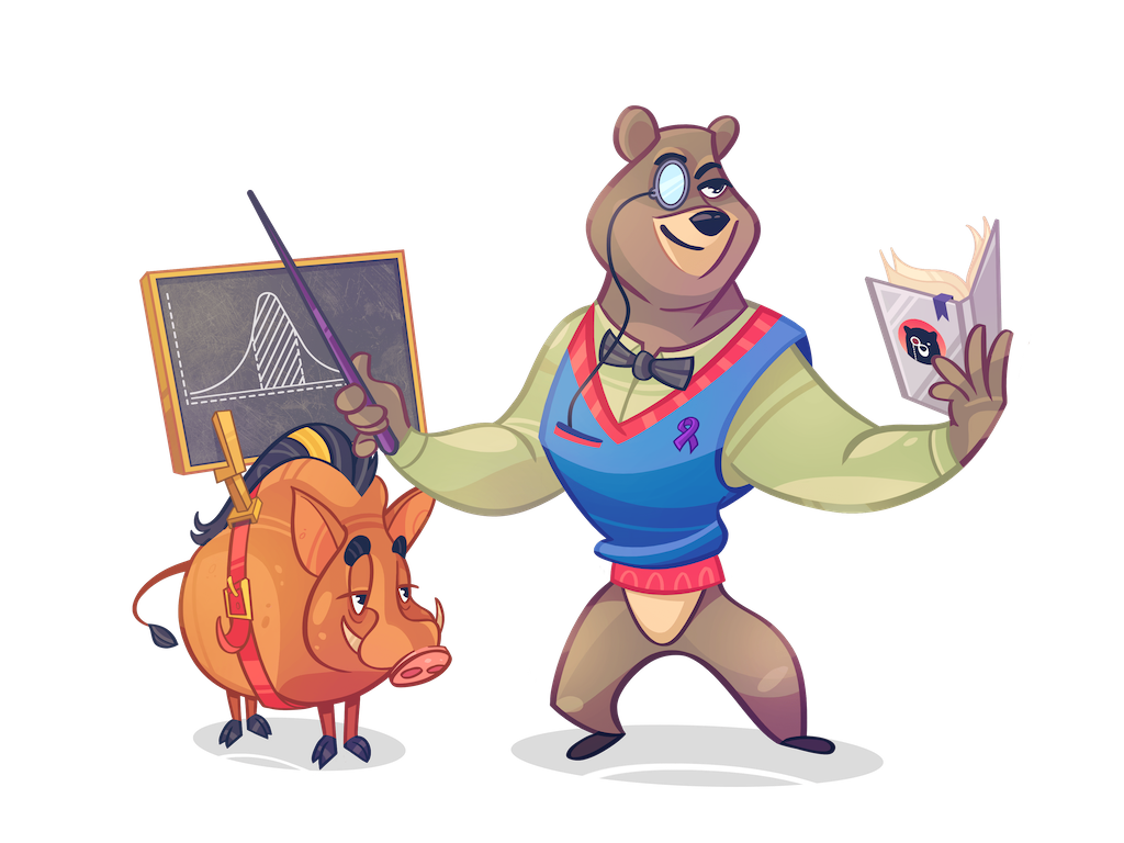 Welcome to QuizGriz - Cliff and Winston are here to welcome you!
