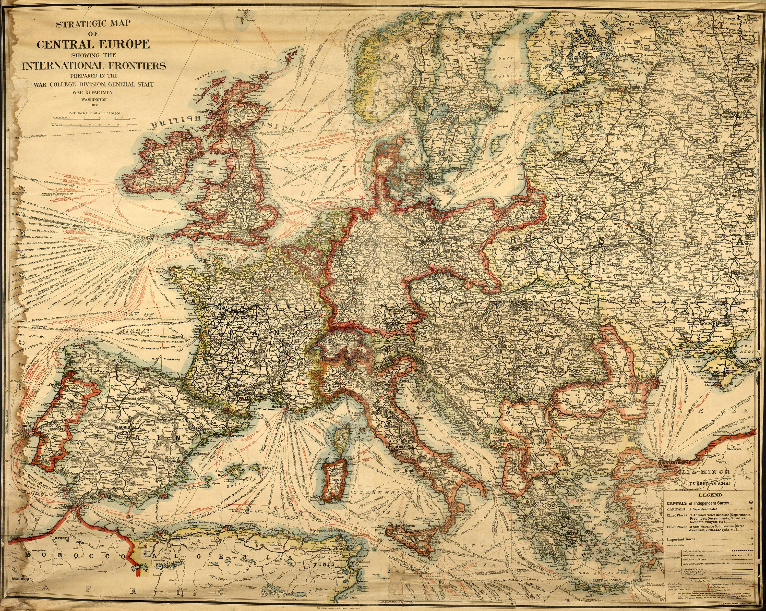 Quiz: Europe Map Quiz - Be a Geography Whiz with this Map of ...