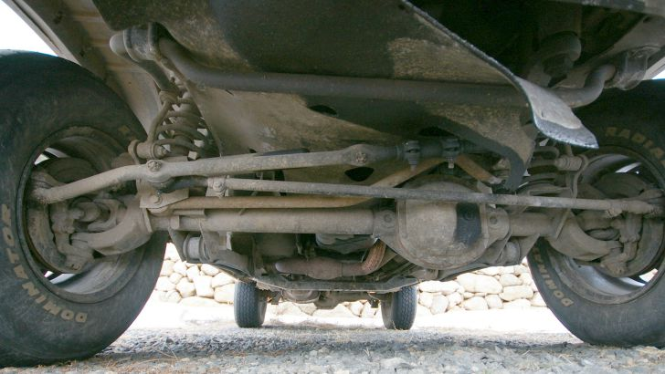 Part Of Car That Connects Wheels To Axles